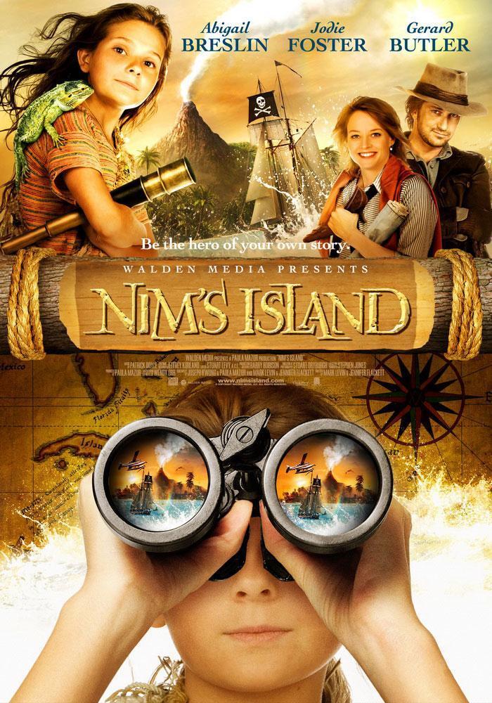 Películas de Abigail Breslin, La Isla de Nim