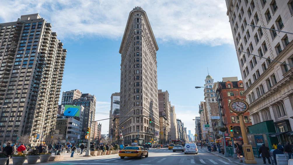 Quinta Avenida de Nueva York, Flatiron Building