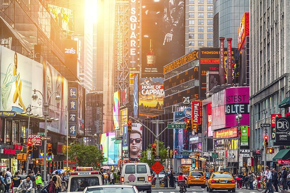 Quinta Avenida de Nueva York, Times Square