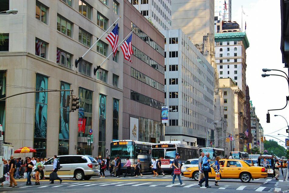 Economía de la Quinta Avenida de Nueva York
