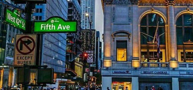 Ubicación de la Quinta Avenida de Nueva York