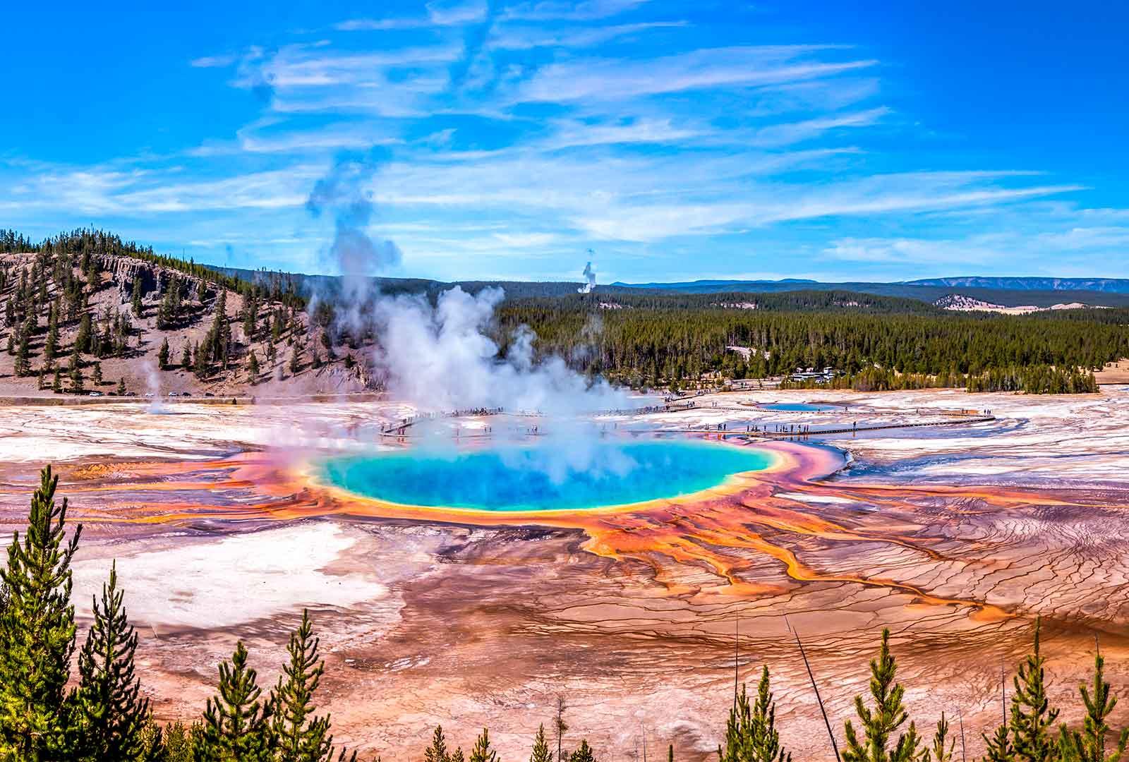 Qué visitar en Yellowstone