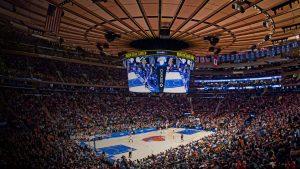 Madison Square Garden de Nueva York interior