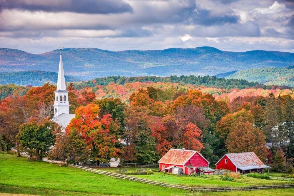 lugares para visitar en Nueva Inglaterra