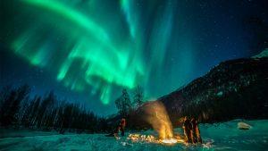 Anchorage auroras