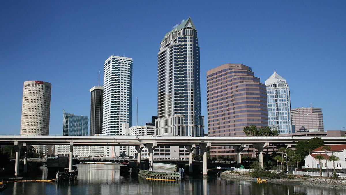 Bahía de Tampa en Florida