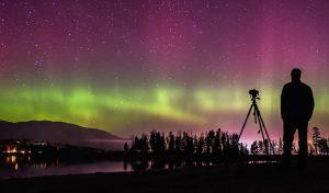 Idaho Panhandle National Forest auroras