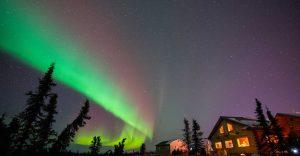 auroras boreales Fairbanks