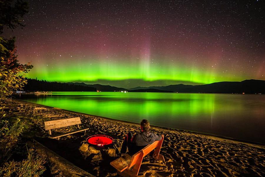 auroras boreales en estados unidos