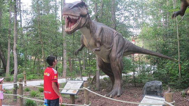 parque tematico de dinosaurios para niños estados unidos